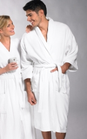 Promotional products: SHAWL COLLAR ROBE VELOUR
