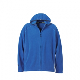 Promotional products: F/zip Hooded microfleece