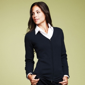 Promotional products: VARNA Full zip sweater