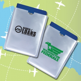 Promotional products: Armour Sleeve RFID Passport Protector