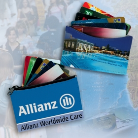 Promotional products: Credit Card wallet with RFID lining protection - Credit card slip case