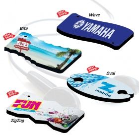 Promotional products: DIGI MATES™ Earbud Winders -Flagt Card Shape