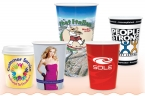 Promotional products: 9oz hot or cold hi-def full color paper cup